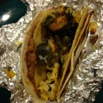 Brussels Sprout Taco